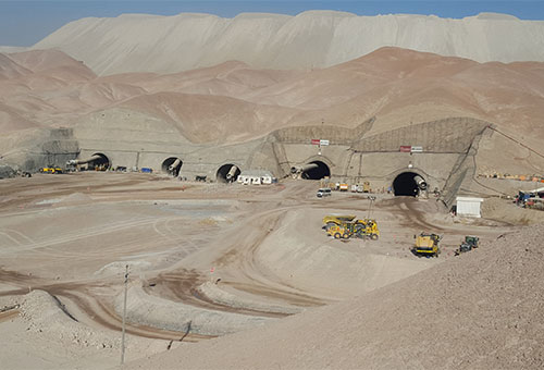 CC-013-2 Main Ventilation Infrastructure Development in the Chuquicamata Mine