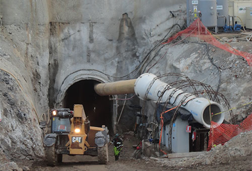 Hydraulic Tunnel for the Renace IV Hydro Power Project