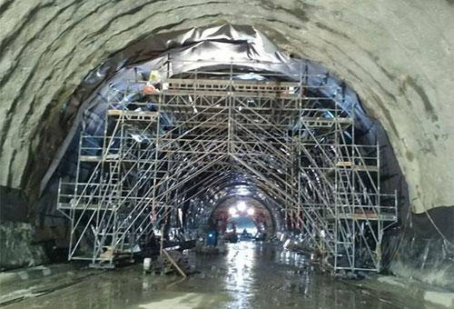 Impermeabilización Túnel de Bouzas; Miamán-Ponte Ambía