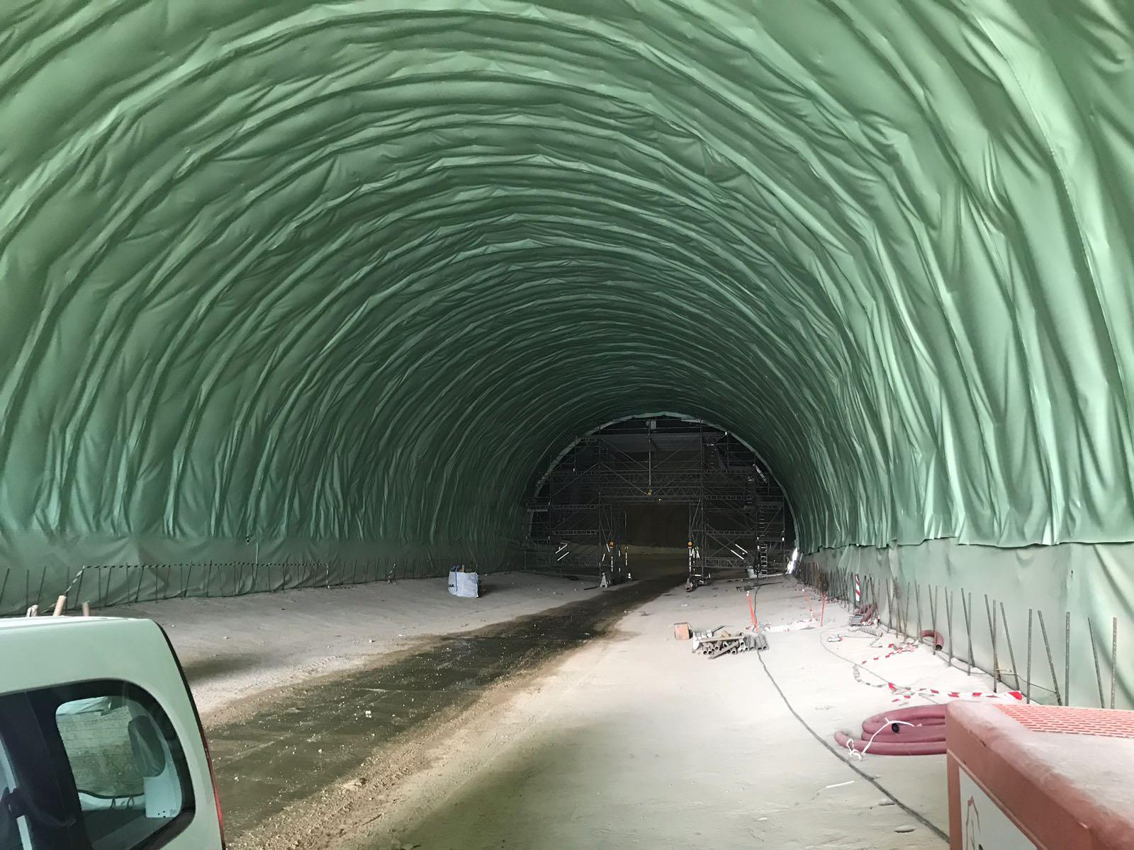 Waterproofing B-40 Tunnel