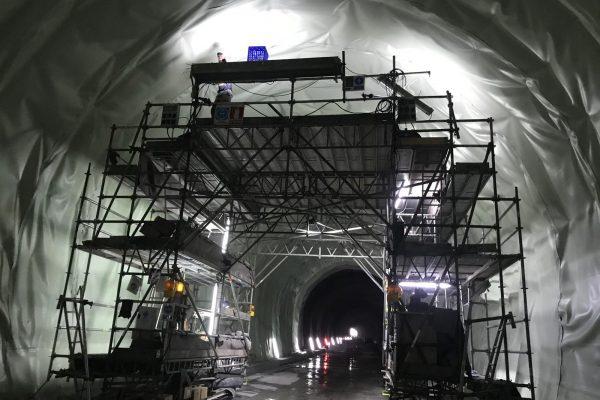 Impermeabilización túnel Requejo